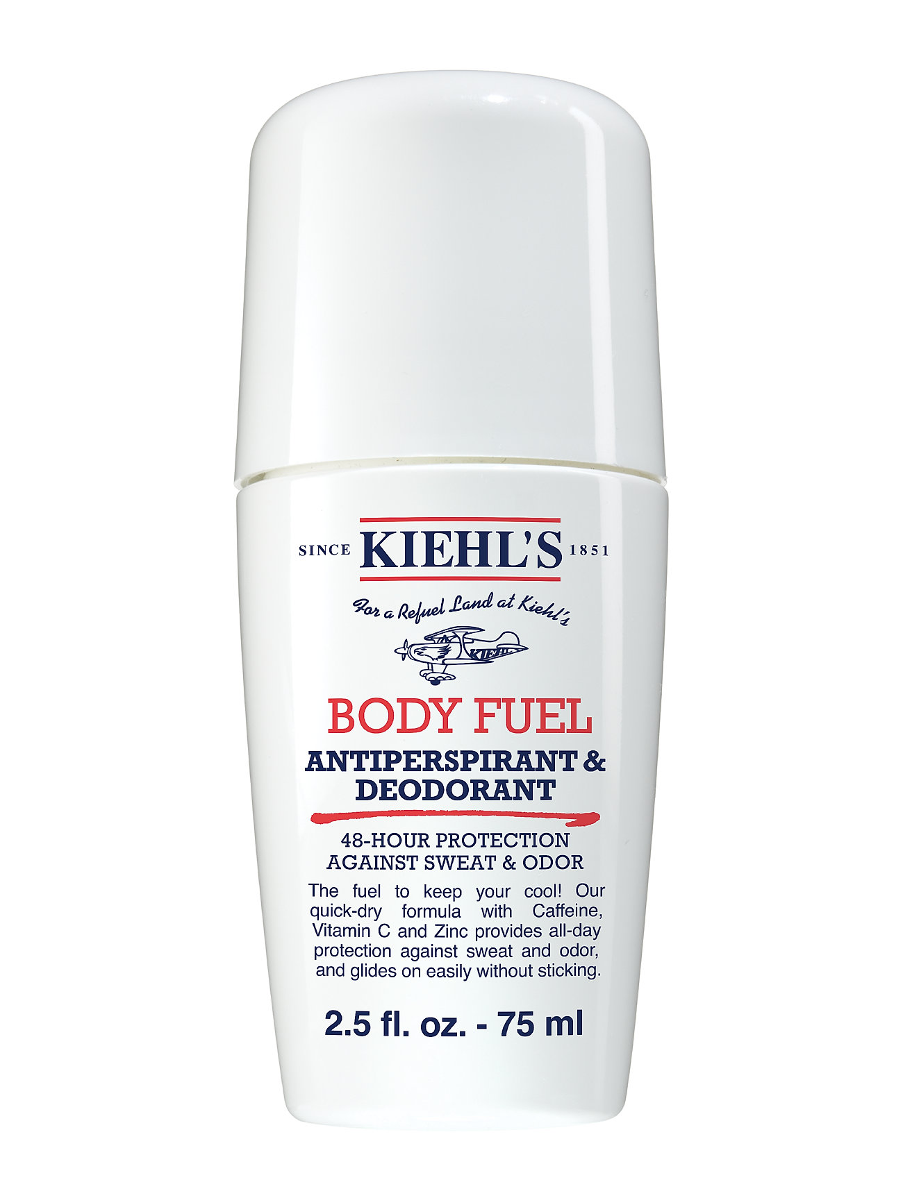 Kiehl's Body Fuel Deodorant & Antiperspirant - CLEAR