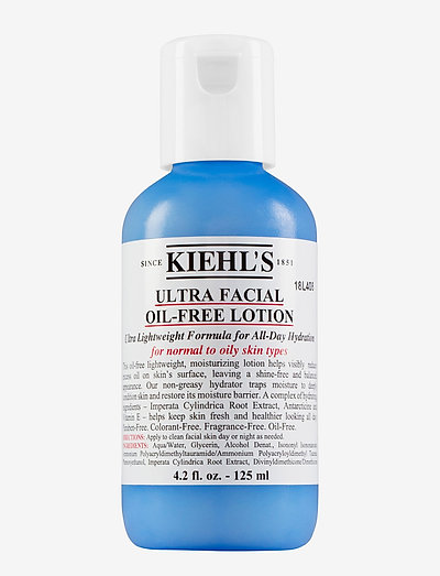 Ultra Facial Oil-Free Lotion 125 ml - dagkrem - clear