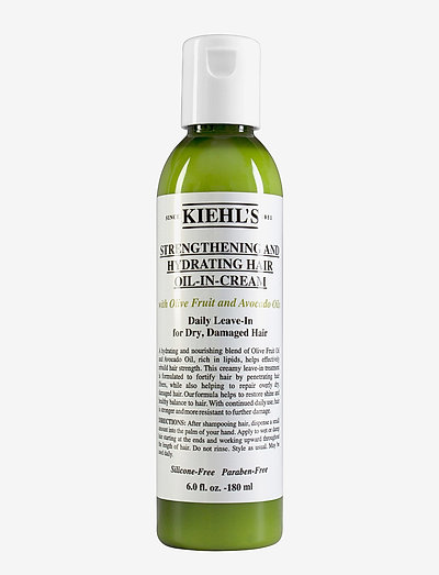 Olive Fruit Oil  Strengthening and Hydrating Hair Oil-in-cre - hårolie - clear