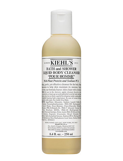 Bath and Shower Liquid Body Cleanser Pour Homme - CLEAR