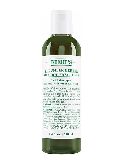Cucumber Herbal Alcohol Free Toner - CLEAR
