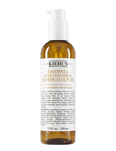 Calendula Deep Cleansing Foaming Face Wash - CLEAR