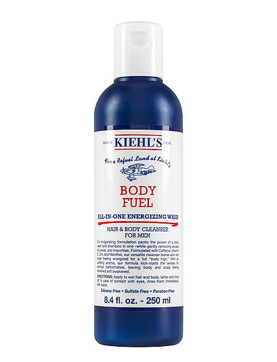Body Fuel All-In-One Energizing Wash - CLEAR
