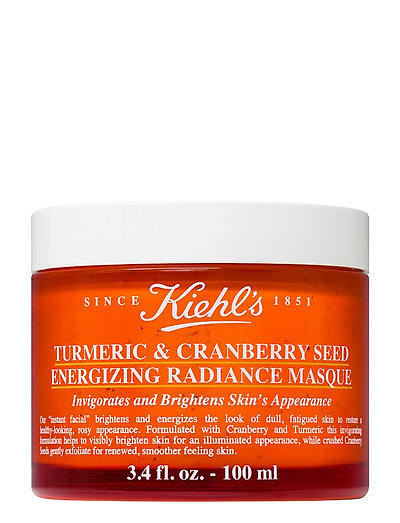 Turmeric Cranberry Seed Energizing Radiance Mask - CLEAR