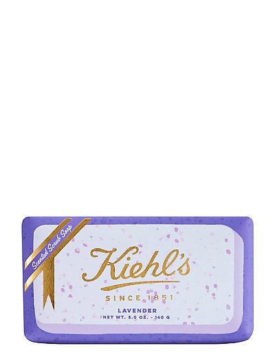 Limited Edition Gently Exfoliating Body Scrub Soap - Lavender - CLEAR