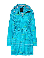 Tabina Sr. rain coat - BLUEBIRD