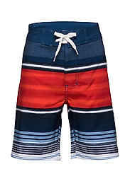 Olfert jr. board shorts AOP - ORANGE.COM