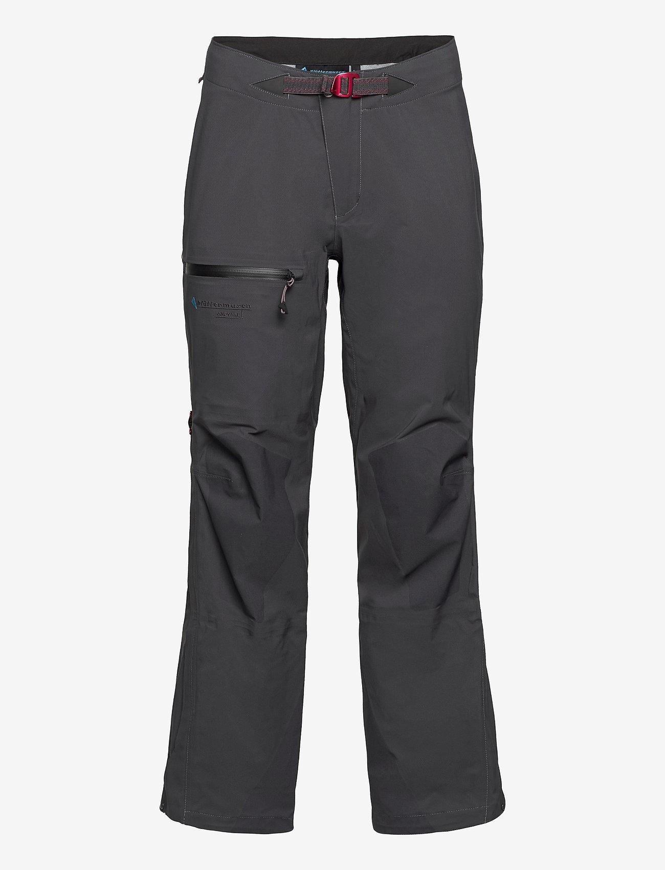 Klättermusen - Andvare Pants M's - outdoorbukser - raven - 0