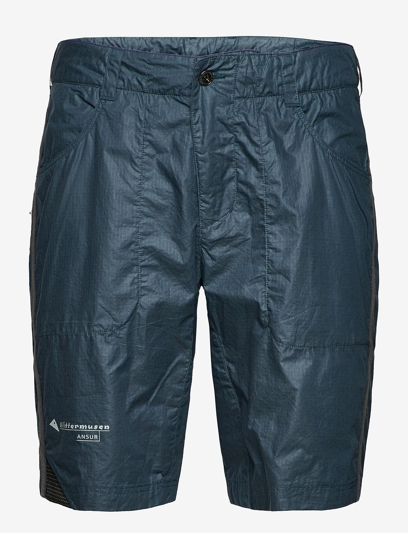 Klättermusen - Ansur Shorts M's - tights & shorts - midnight blue - 0