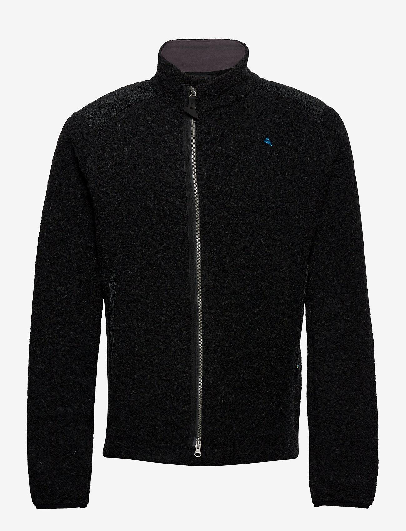 Klättermusen - Skoll Zip M's - fleece - charcoal - 1