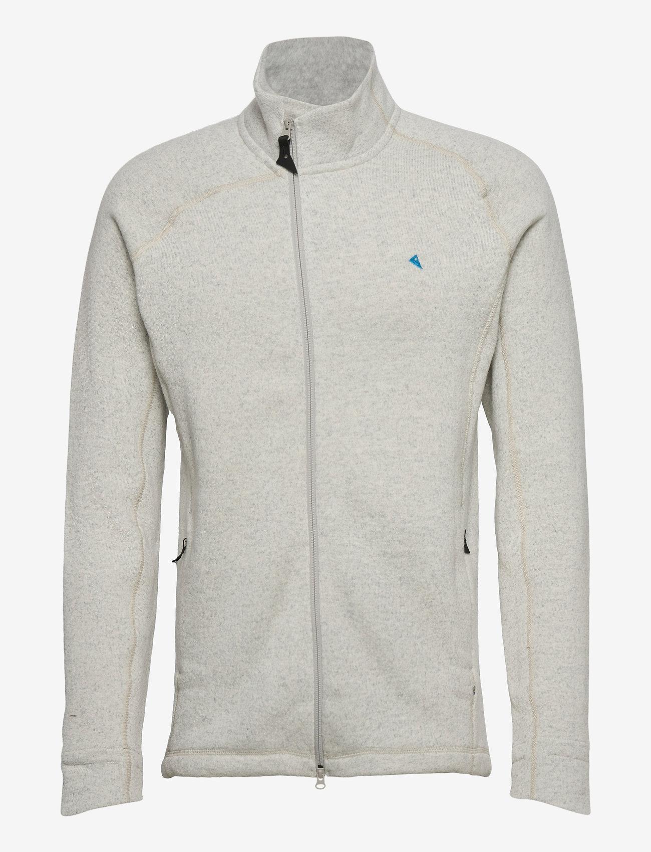 Klättermusen - Balder Zip M's - basic-sweatshirts - dark moon - 0