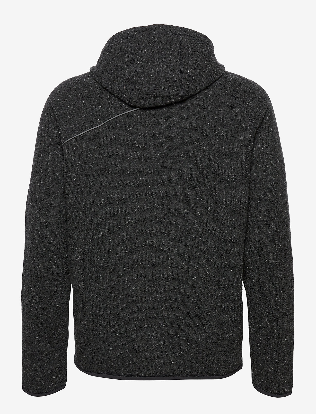 Klättermusen - Falen Wooly Hoodie M's - basic-sweatshirts - raven - 1