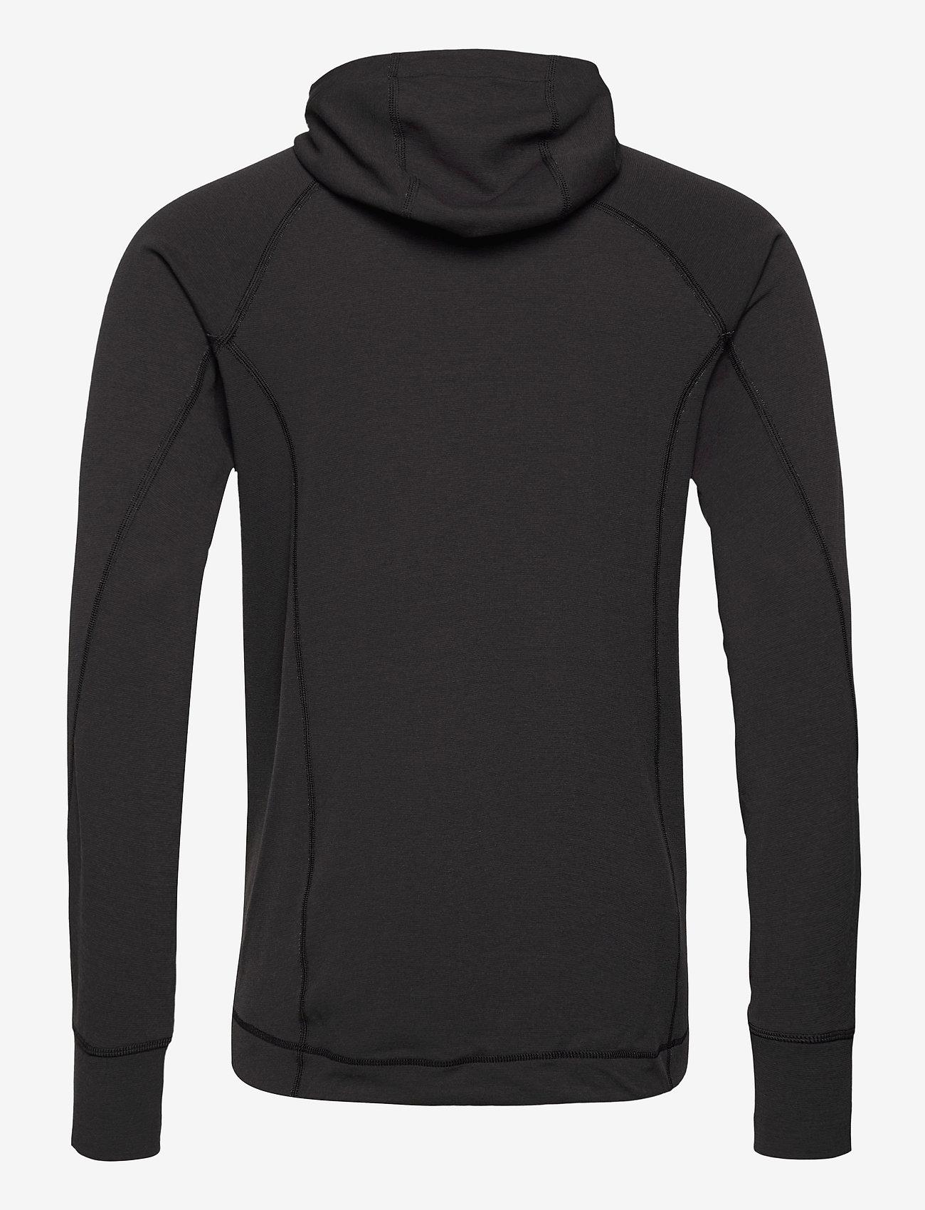 Klättermusen - Njorun 2.0 Hoodie M's - basic-sweatshirts - raven - 1