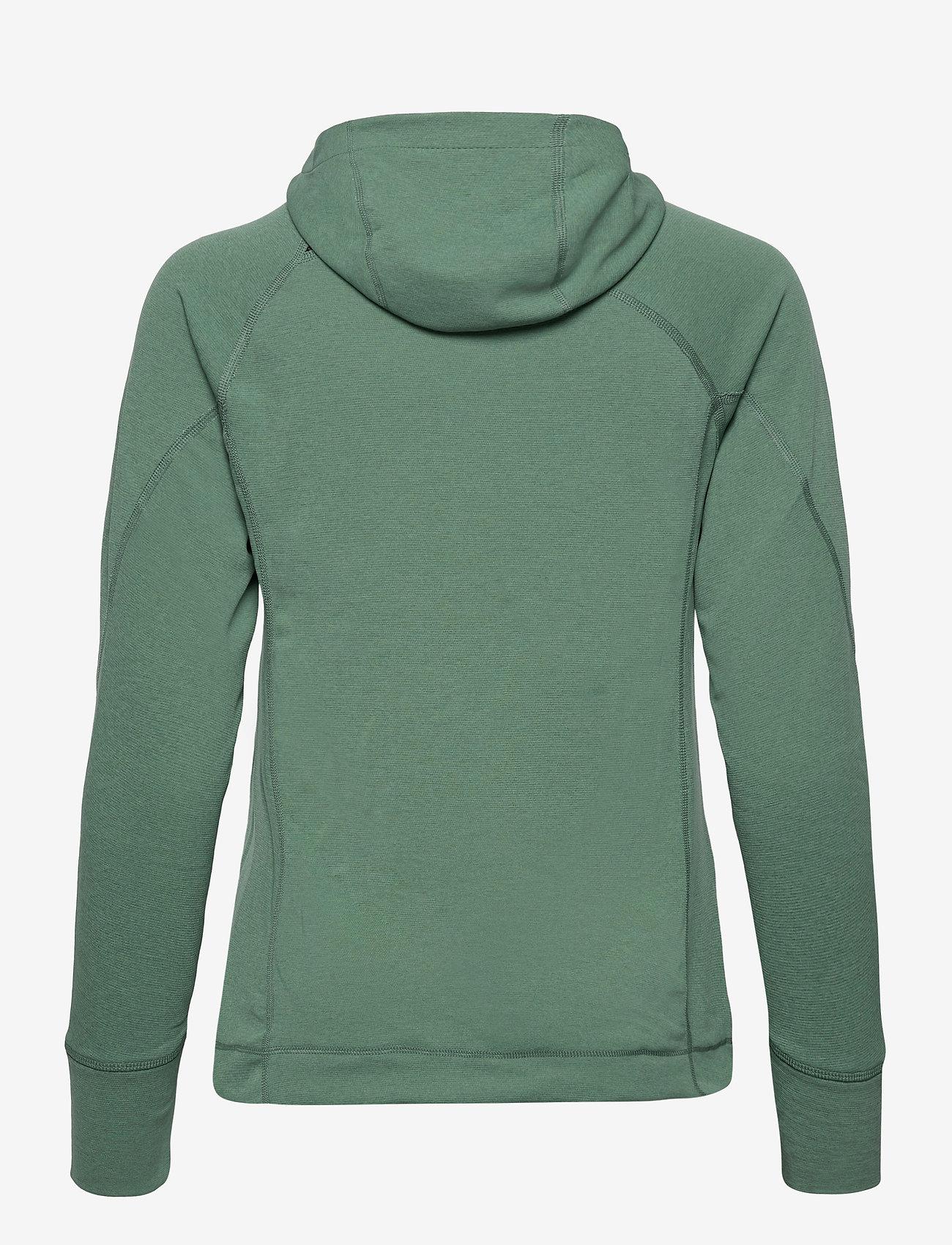 Klättermusen - Njorun 2.0 Hoodie W's - sweatshirts & hoodies - brush green - 1