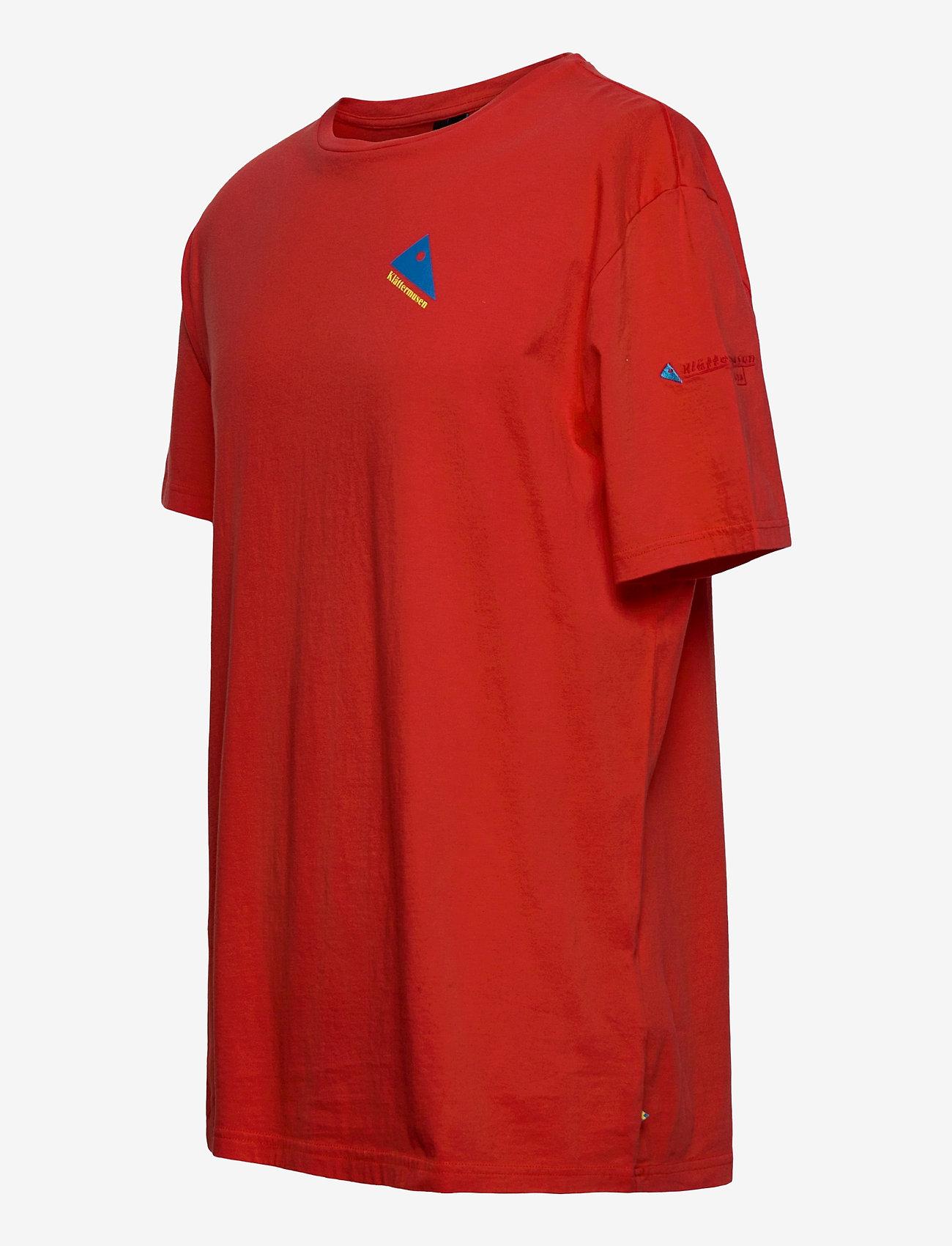 Klättermusen Verkstad 1980 SS Tee M's - T-skjorter MOLTEN LAVA - Menn Klær