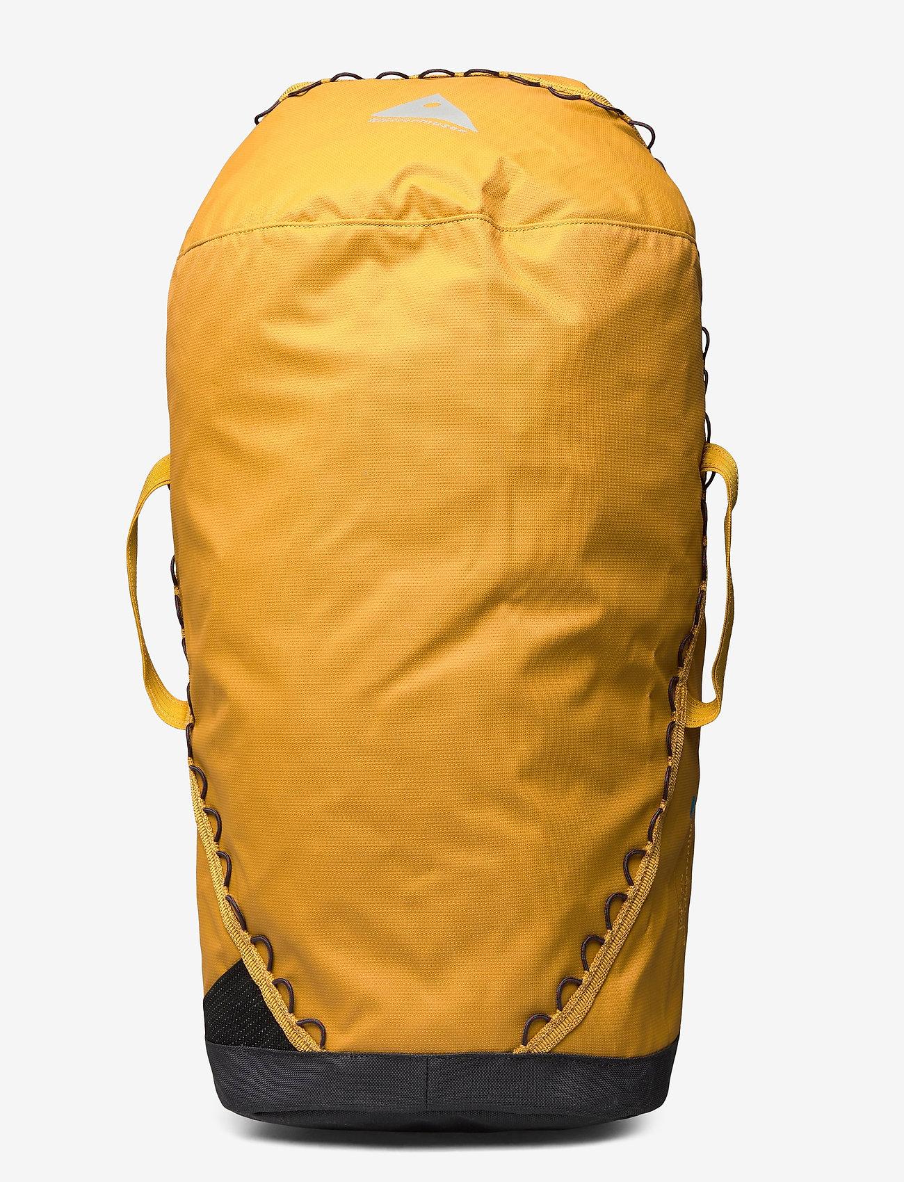 Klättermusen - Glitner Duffelbag 40L - træningstasker - honey - 0