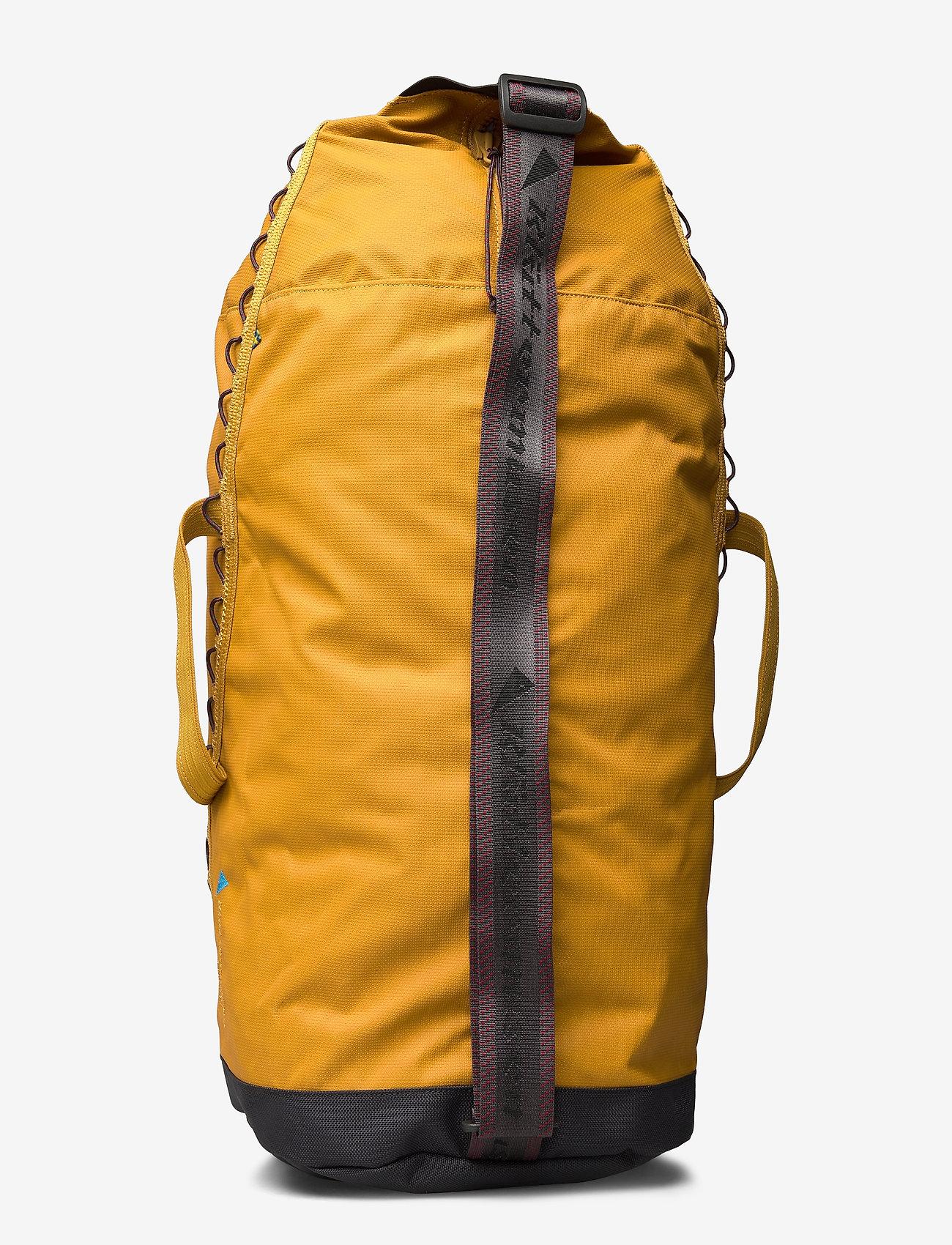 Klättermusen - Glitner Duffelbag 30L - træningstasker - honey - 1