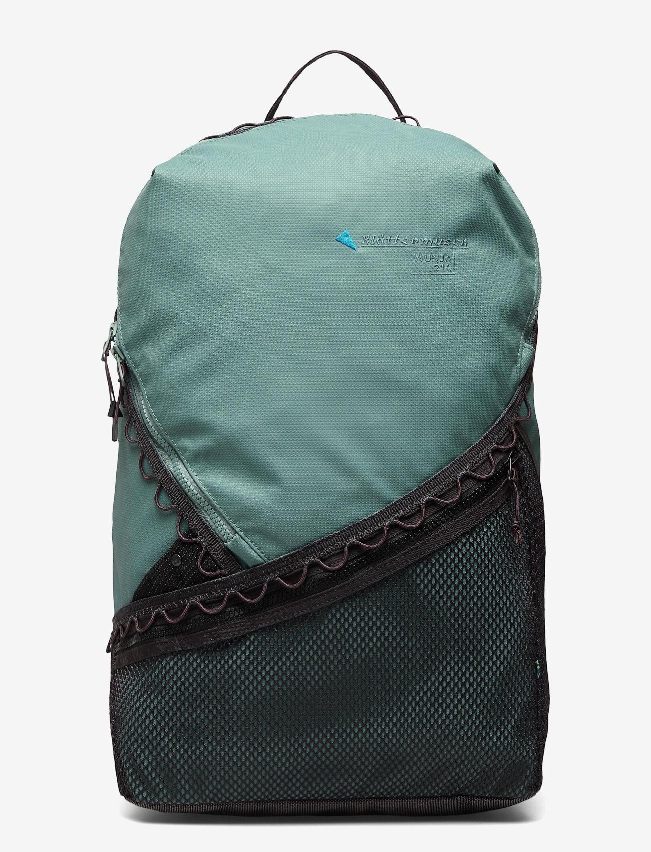Klättermusen - Wunja Backpack 21L - sportstasker - brush green - 0