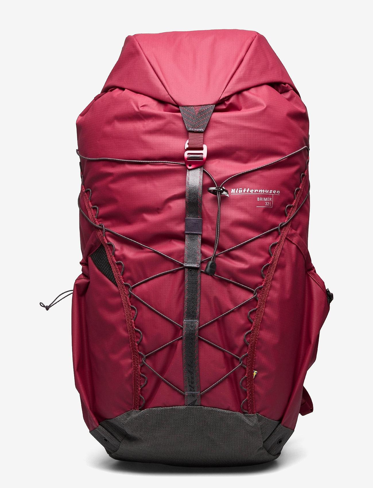 Klättermusen - Brimer Backpack 32L - sportstasker - burnt russet - 0
