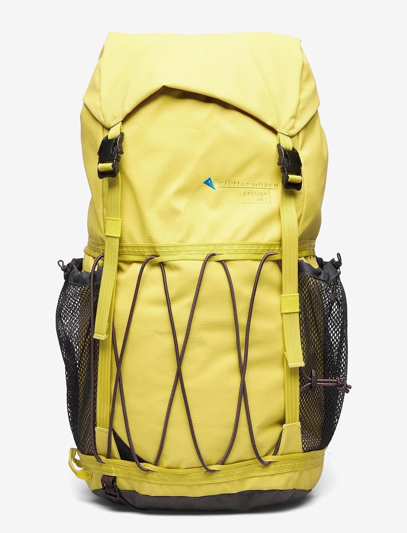 Klättermusen - Delling  Backpack 30L - sportstasker - dusty yellow - 0