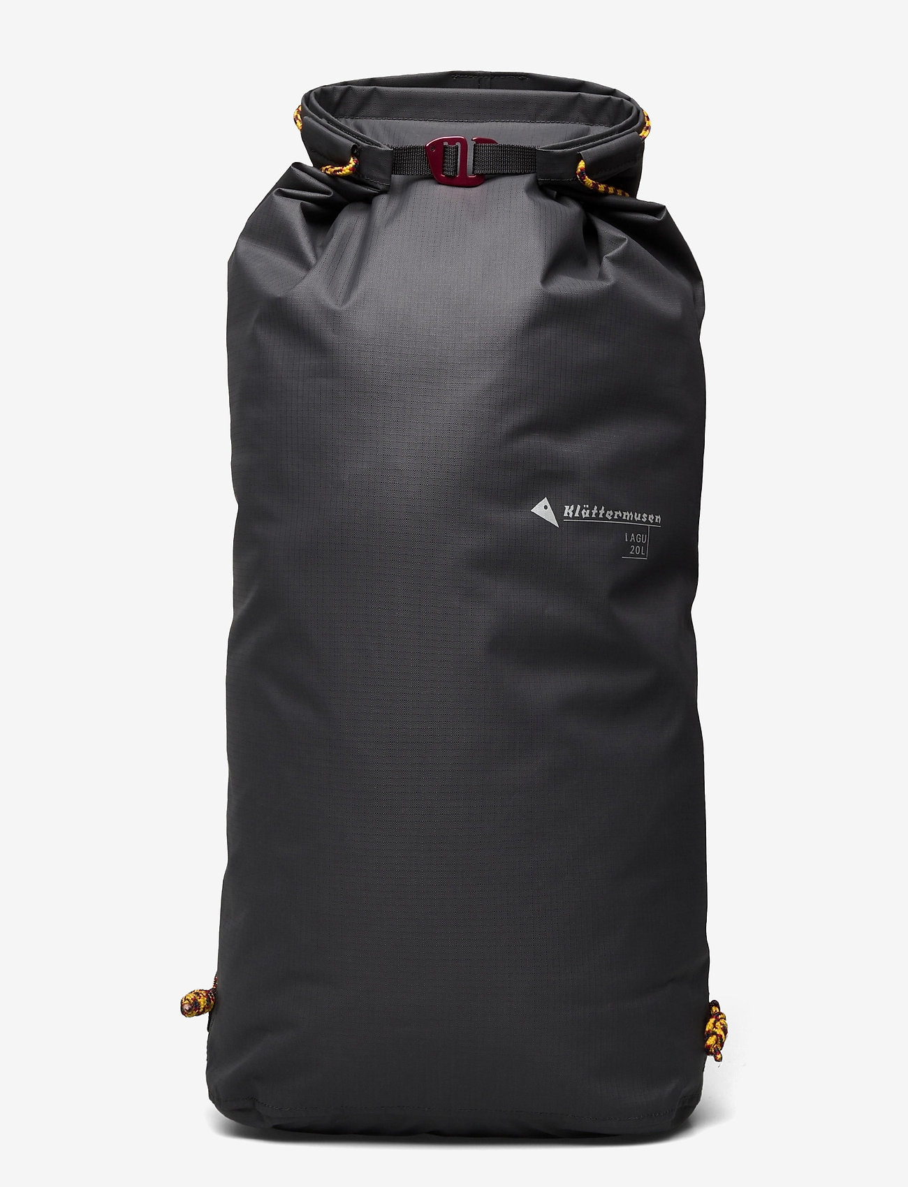 Klättermusen - Lagu Waterproof Stuff Bag 20L - sportstasker - raven - 0