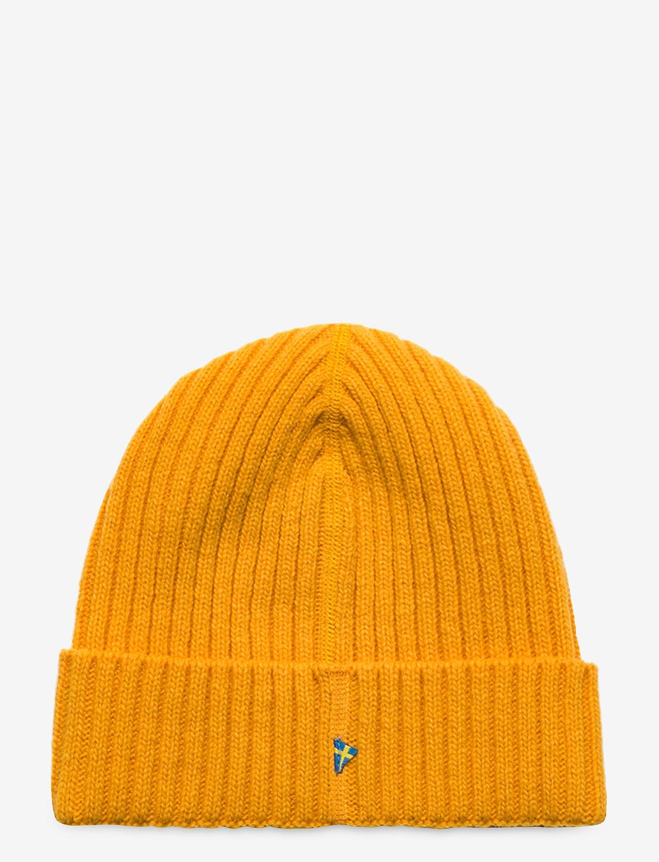 Klättermusen - Barre Ribbed Cap - mössor - sun yellow - 1