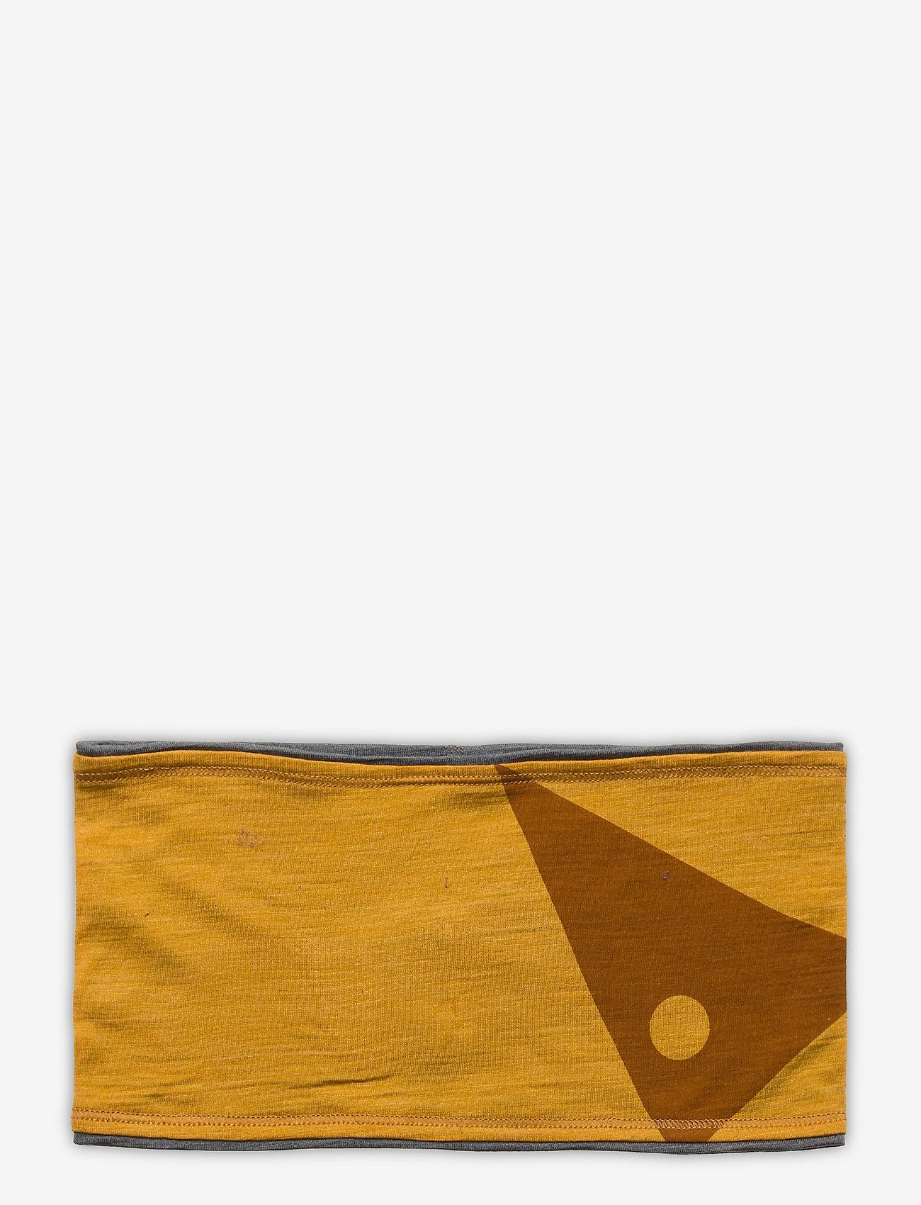 Klättermusen - Eir Headband - pannband - dark honey-grey melange - 0