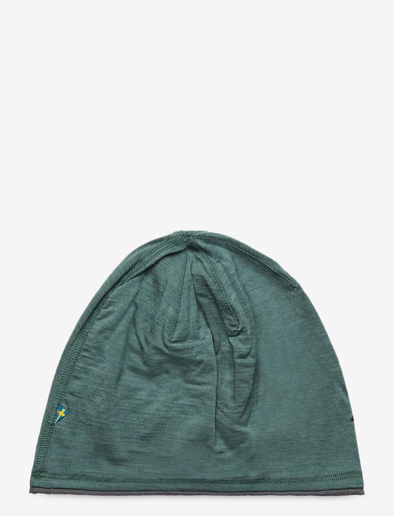 Klättermusen - Eir Beanie - bonnet - brush green-grey melange - 1