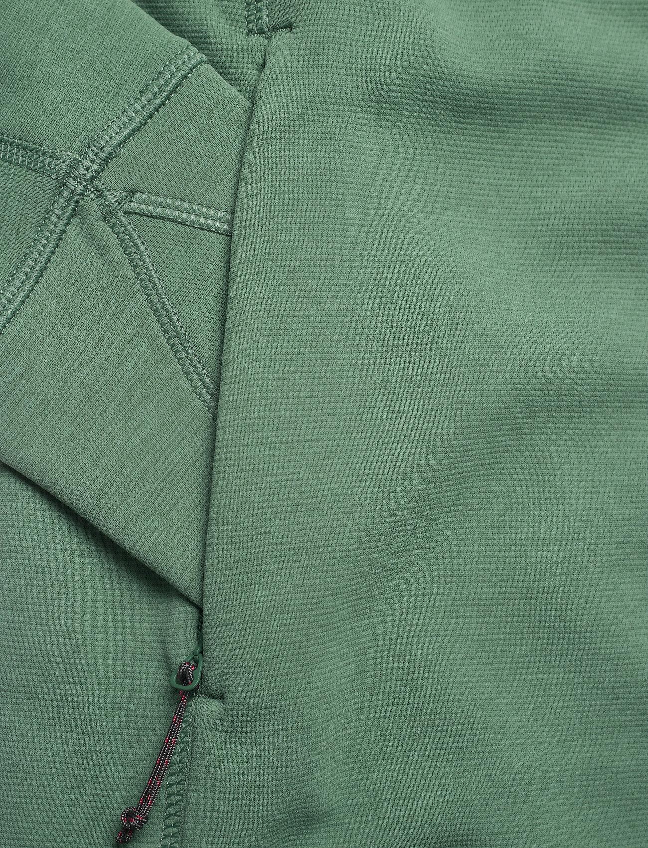 Klättermusen - Njorun 2.0 Hoodie W's - sweatshirts & hoodies - brush green - 3