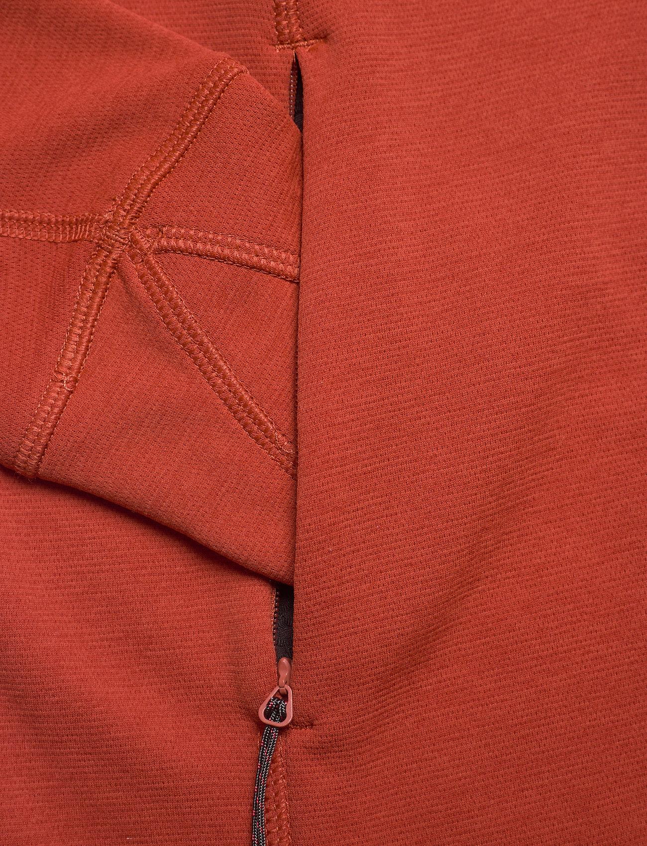 Klättermusen - Njorun 2.0 Hoodie W's - sweatshirts & hoodies - dark redwood - 3