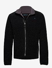 Klättermusen - Skoll Zip M's - fleece - charcoal - 0