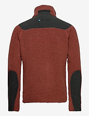 Klättermusen - Skoll Zip M's - basic-sweatshirts - dark rust - 1