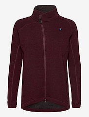 Klättermusen - Balder Zip W's - fleece - sorrel red - 0
