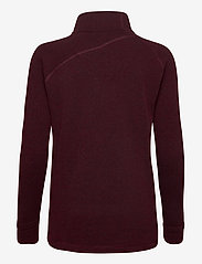 Klättermusen - Balder Zip W's - fleece - sorrel red - 1