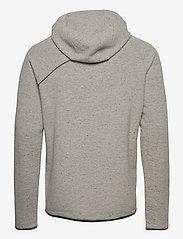 Klättermusen - Falen Wooly Hoodie M's - basic-sweatshirts - dark moon - 1