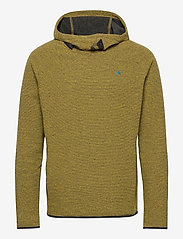 Klättermusen - Falen Wooly Hoodie M's - basic-sweatshirts - dusty yellow - 0