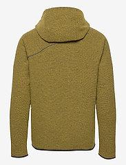 Klättermusen - Falen Wooly Hoodie M's - basic-sweatshirts - dusty yellow - 1
