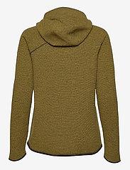 Klättermusen - Falen Wooly Hoodie W's - fleece - dusty yellow - 1