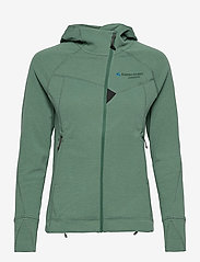 Klättermusen - Njorun 2.0 Hoodie W's - sweatshirts & hoodies - brush green - 0