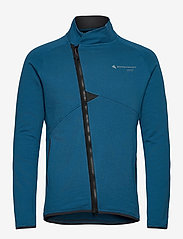 Klättermusen - Falen Zip M's - basic-sweatshirts - blue sapphire - 0