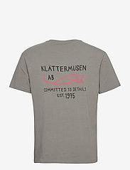 Klättermusen - Runa Commitment SS Tee M's - kurzärmelig - granit grey - 1