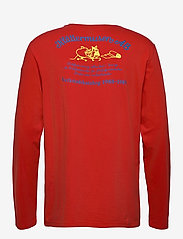 Klättermusen - Verkstad 1980 LS Tee M's - t-shirts à manches longues - molten lava - 1