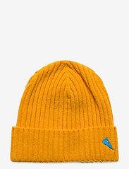 Klättermusen - Barre Ribbed Cap - mössor - sun yellow - 0