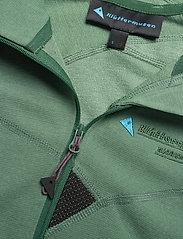 Klättermusen - Njorun 2.0 Hoodie W's - sweatshirts & hoodies - brush green - 2