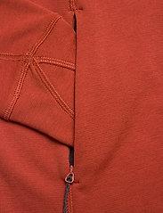 Klättermusen - Njorun 2.0 Hoodie W's - sweatshirts en hoodies - dark redwood - 3