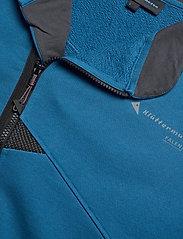 Klättermusen - Falen Zip M's - basic-sweatshirts - blue sapphire - 2