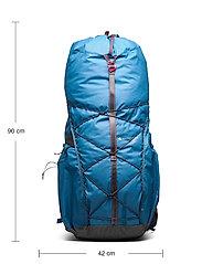 Klättermusen - Raido Backpack 55L - sportstasker - blue sapphire - 4