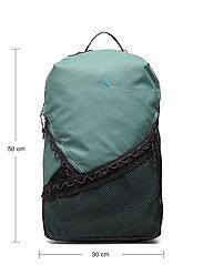 Klättermusen - Wunja Backpack 21L - sportstasker - brush green - 4