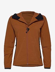 Vanadis 2.0 Jacket W's - softshell-jackor - rust
