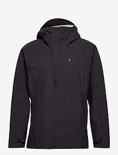 Asynja Jacket M's - wandel- en regenjassen - raven